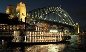 sydney night on a cruise