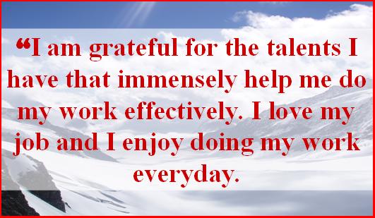 GratefulForTalentsAndJob