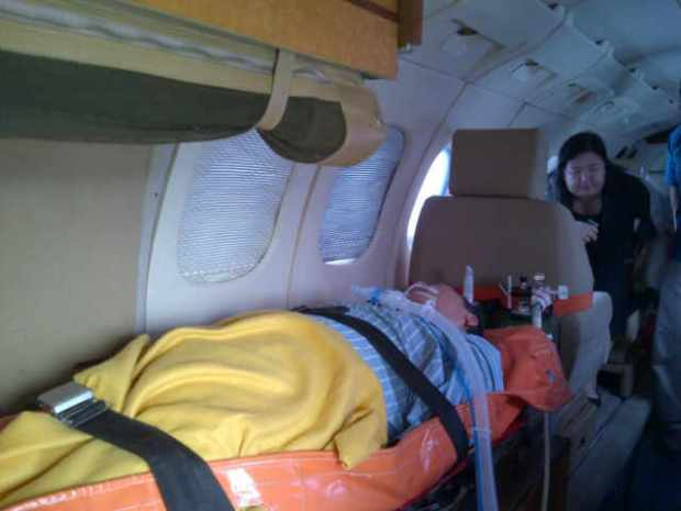Sebelum pintu pesawat ditutup jam 14.30 wib