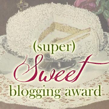 Super Sweet Blogging Awards